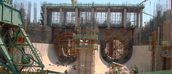 Jirau Hydroelectric Power Plant, Porto Velho, Rondônia, Brazil