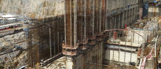 Teles Pires hydroelectric plant, Brazil