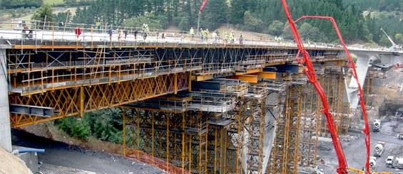 AP-1 Eibar-Vitoria Highway, Basagoiti Viaduct, Spain
