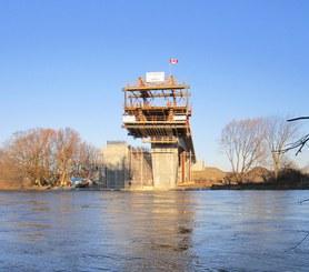 Bridge over the Grand River, Ontario, Canada
