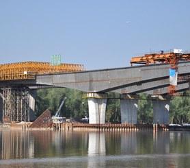 Maria Skłodowska-Curie Bridge, Warsaw, Poland