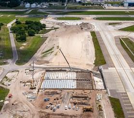 Tampa International Airport, Taxiway 'A', Bridge, Florida, USA