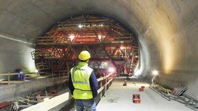 Blanka Tunnel, Prague, Czech Republic
