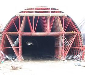 False Tunnel in Catania-Siracusa Highway, Carlentini, Italy
