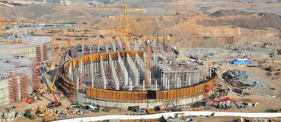 Water Storage Plant Briman, Jeddah, Saudi Arabia