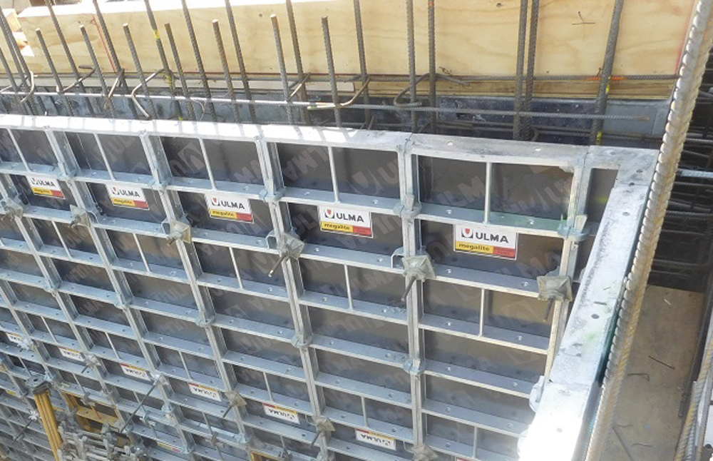 Handset Modular Form MEGALITE - Concrete walls and columns