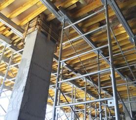 Easy infills around columns