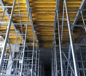 10,000 pound per leg frame shoring system