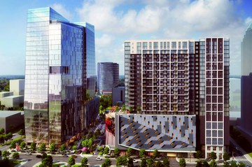 Atlanta Skyline's Next Addition: Midtown Union