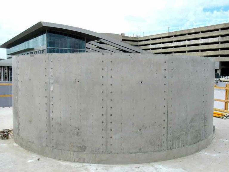 Tampa International Airport New Cooling Tower & Main Terminal