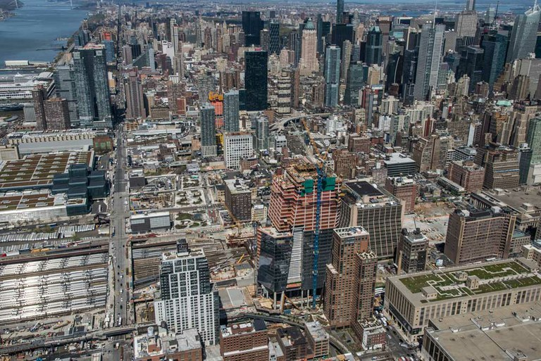 ATR Self-Climbing Formwork at Hudson Yards, NYC, USA