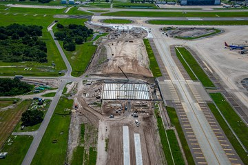 ULMA is Collaborating to Build the New Bridge for Taxiway 'A' at the Tampa International Airport
