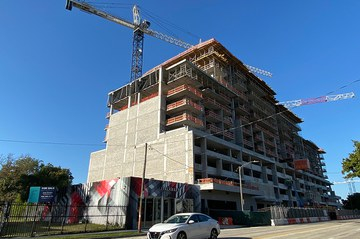Wynwood Green Tops Out in Miami