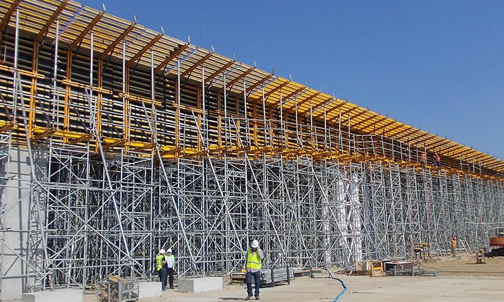Slab and bridge deck formwork ENKOFORM HMK | ULMA Construction