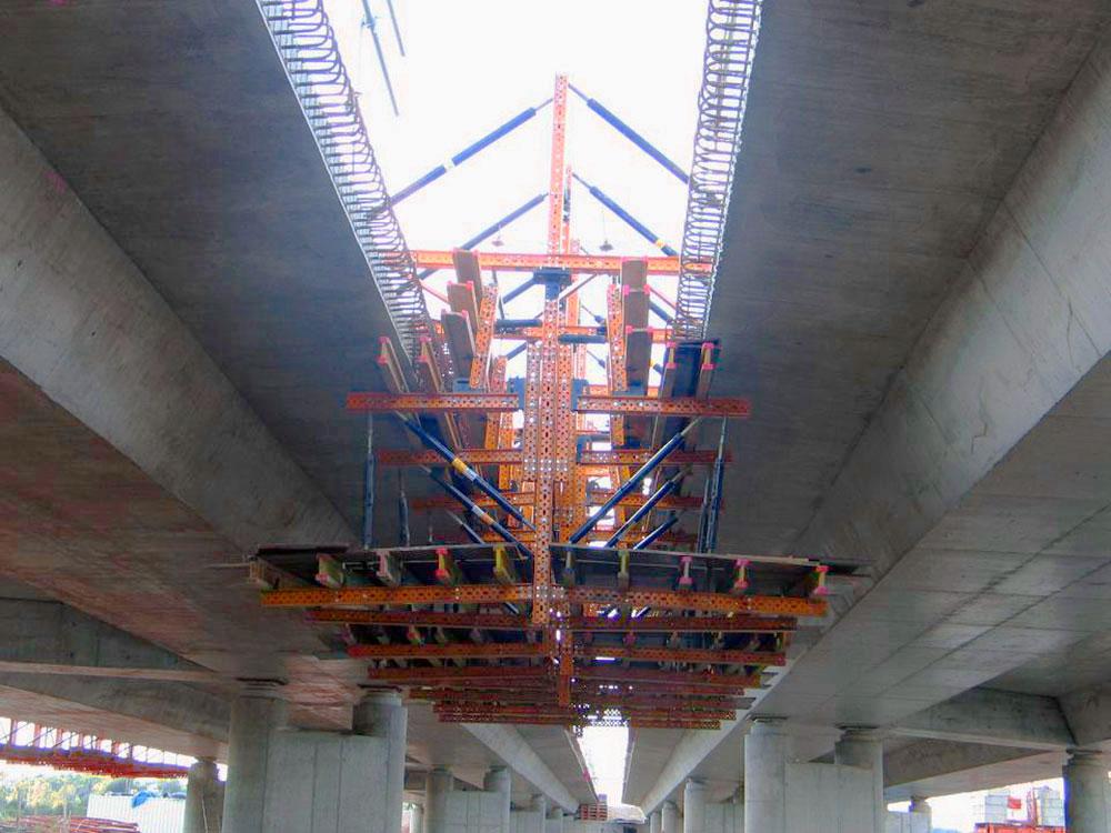 Parapet formwork carriage MK   ULMA Construction
