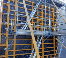 SBU wall safety platform