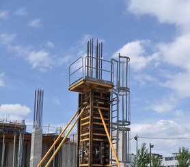 Compatible with different column formwork systems of ULMA
