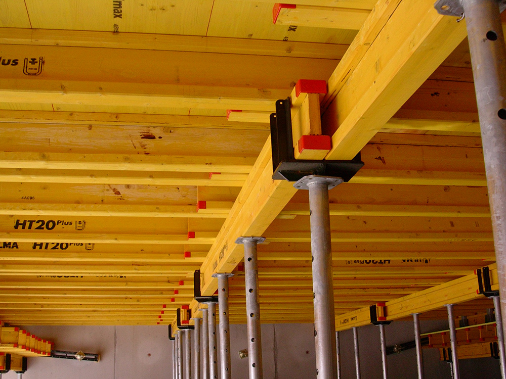 Timber beam slab formwork ENKOFLEX   ULMA Construction