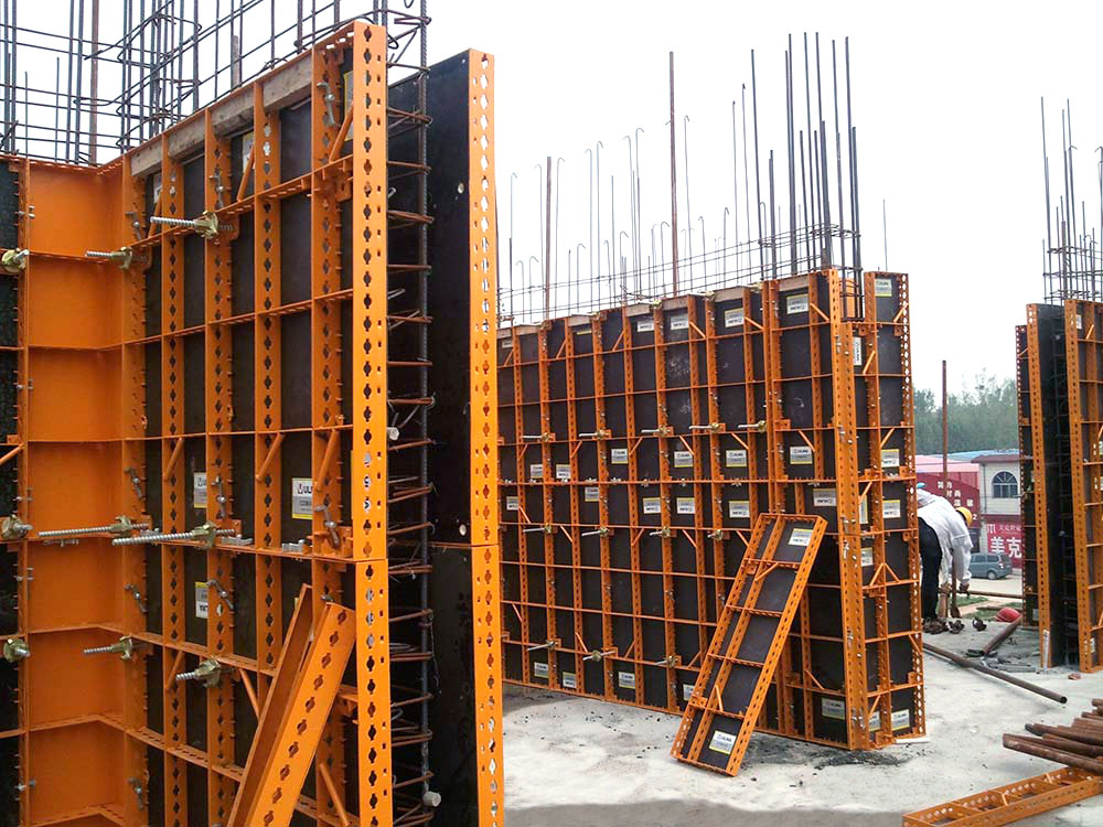Lightweight steel panel formwork COMAIN | ULMA Construction