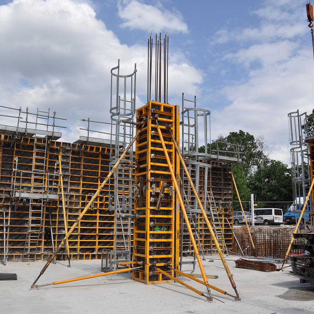 Steel panel formwork ORMA | ULMA Construction