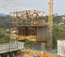 Aserradero Bridge, Colombia