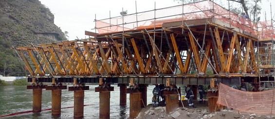 Estaiada Bridge, Metro Line 4, Rio de Janeiro, Brazil