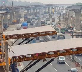 Jakarta-Cikampek II Toll Road, Karawang, Indonesia