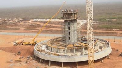 Control tower at Dakar International Airport, Senegal