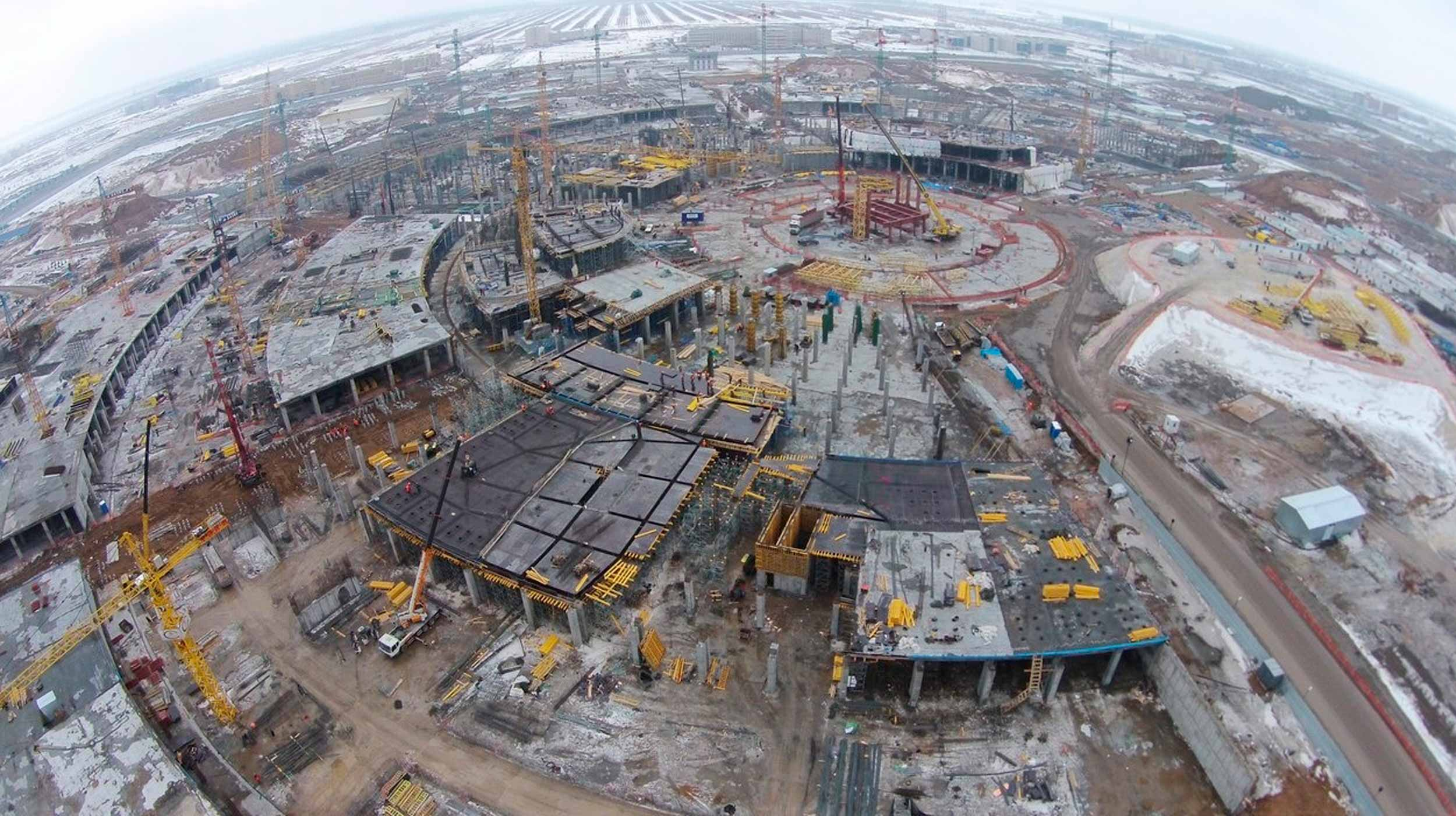 The largest and most experienced construction companies in Kazakhstan are participating in the construction of new structures and modernisation of the existing infrastructure.