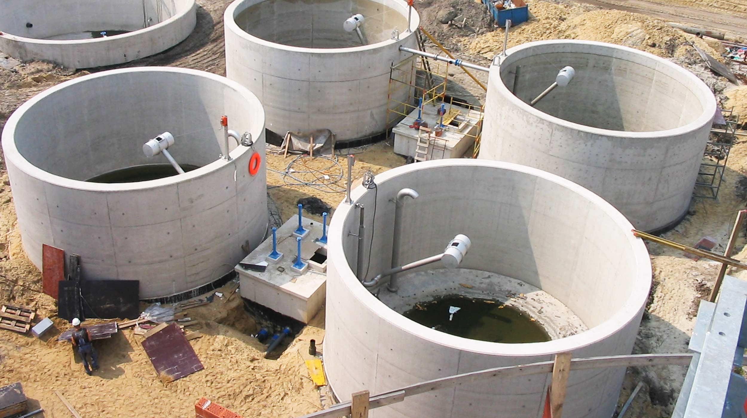Sewage Treatment Plant, Katowice, Poland | ULMA