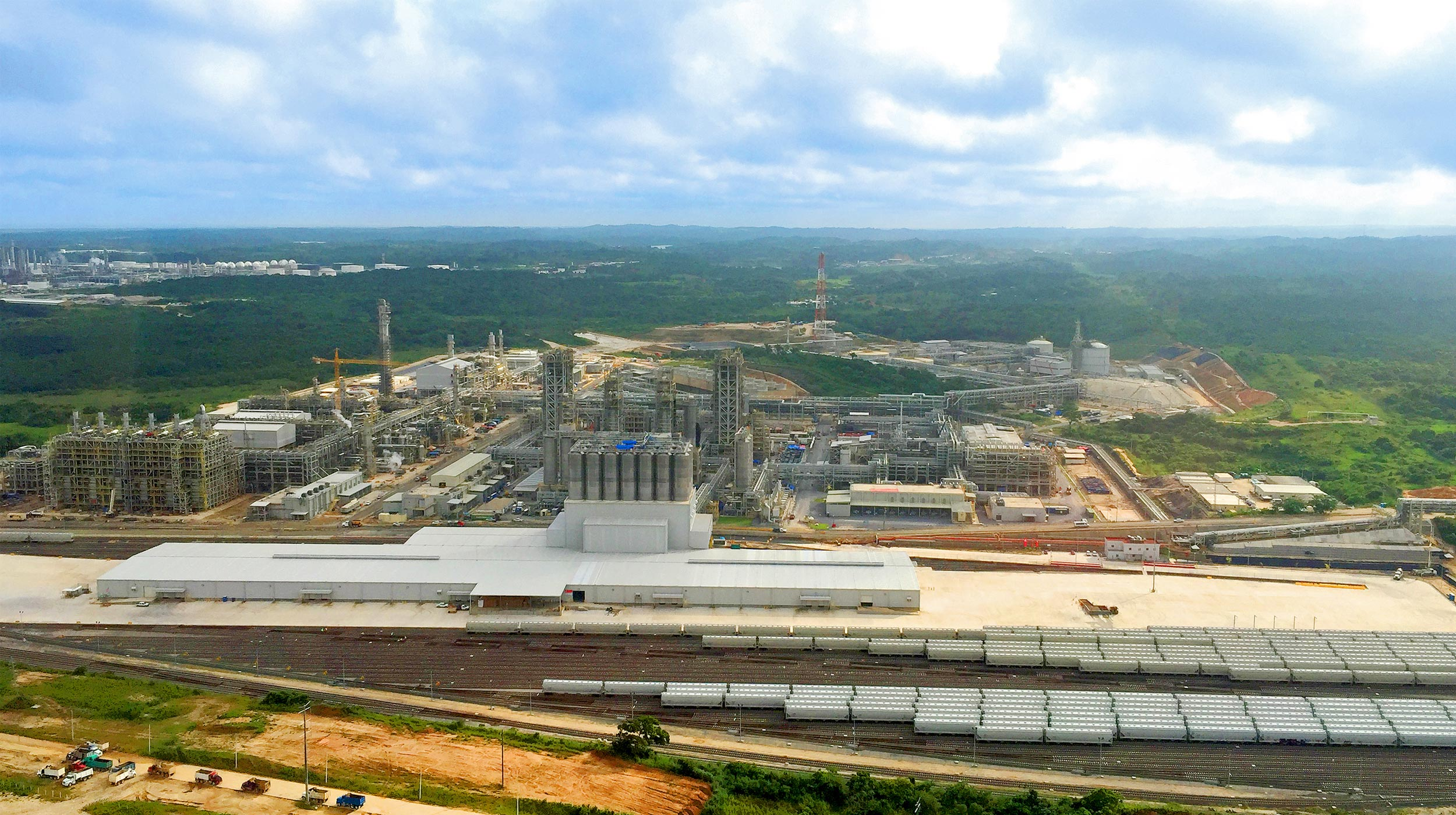 ULMA played a critical role in this project, which is the biggest ethylene production plant in all of Latin America.