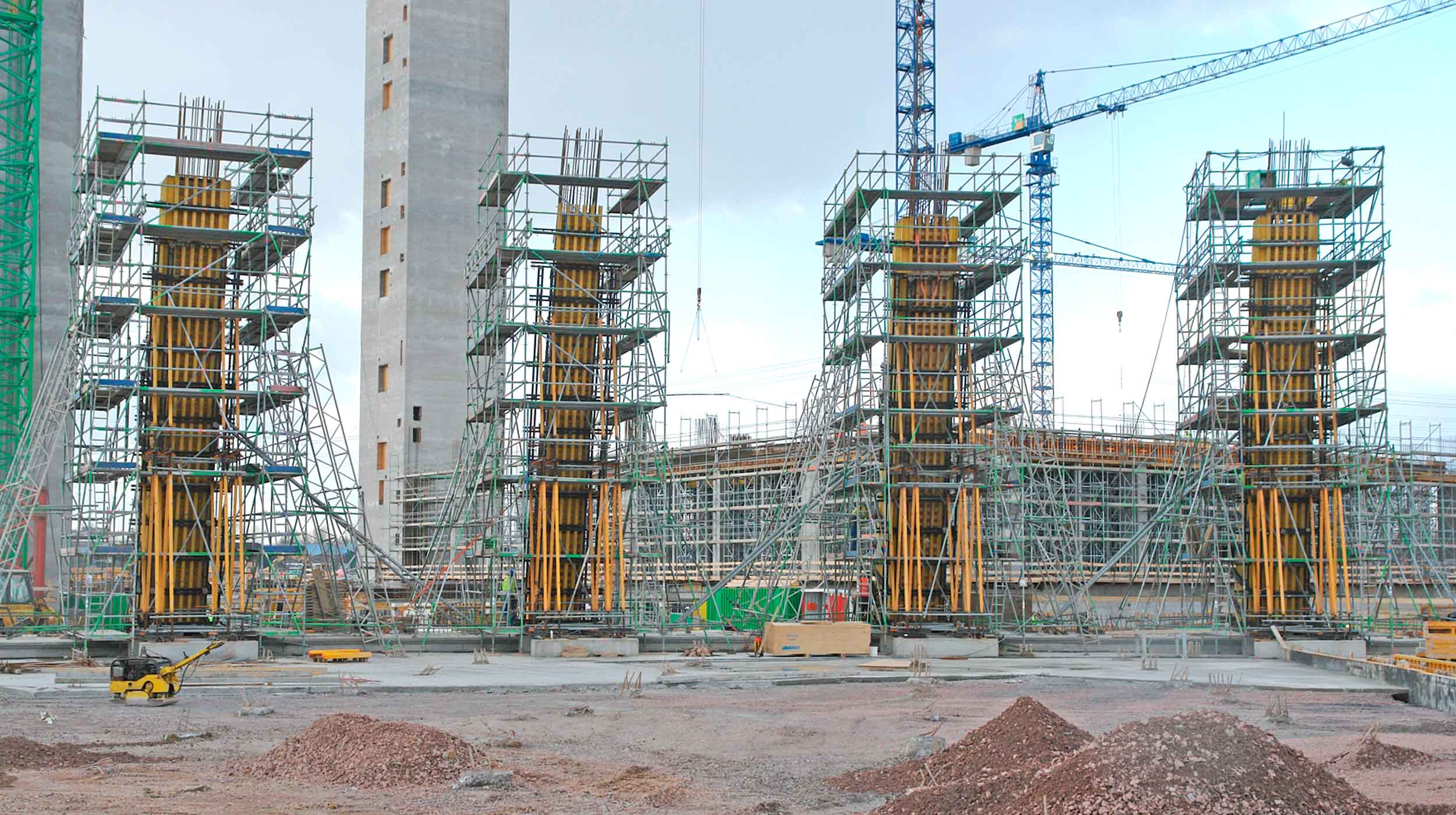It is one of the largest construction projects to be carried out in recent years in North Rhine-Westphalia: a new generation of power plants, the first one in Datteln.