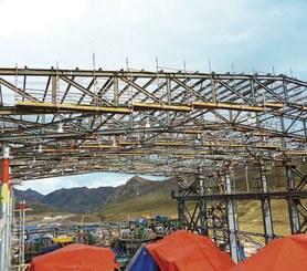 Toromocho pit mine, Perú
