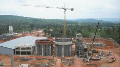 Xambioa Cement Factory, Brazil