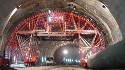 Natural tunnel, Pesaro, Italy