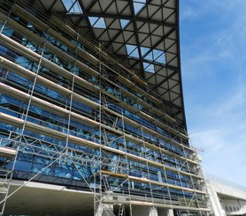 Accesses to DORPA scaffolding