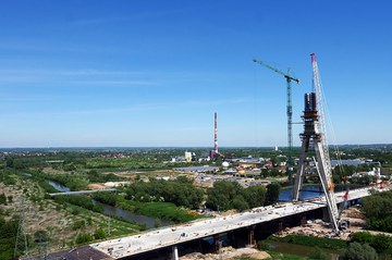 108 m Pylon Constructed with Self-Climbing System