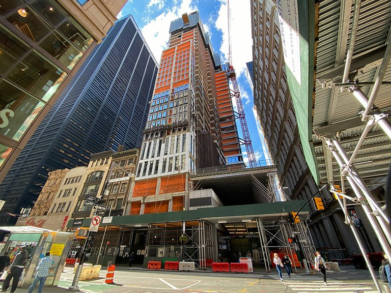 185 Broadway Rising Above The Financial District in New York