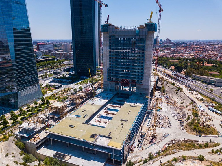 Caleido, the Latest Addition to Madrid's Skyline