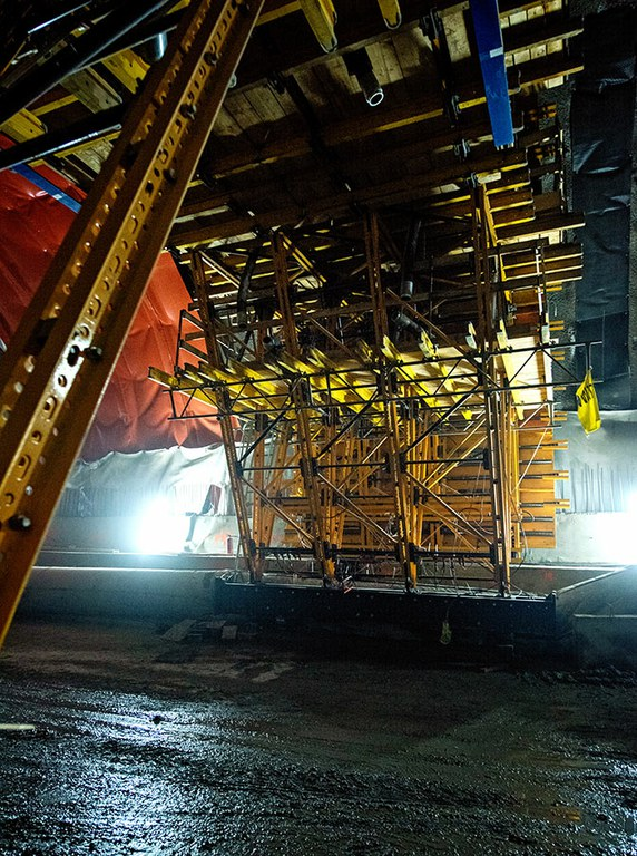 Construction of Poland's longest road tunnel with the MK Formwork Carriage