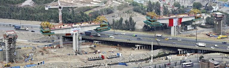 Electric train, Lima, Peru