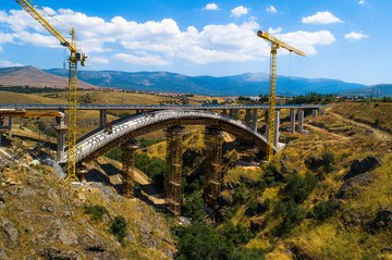 Eresma, Arched Bridge, Segovia, Spain