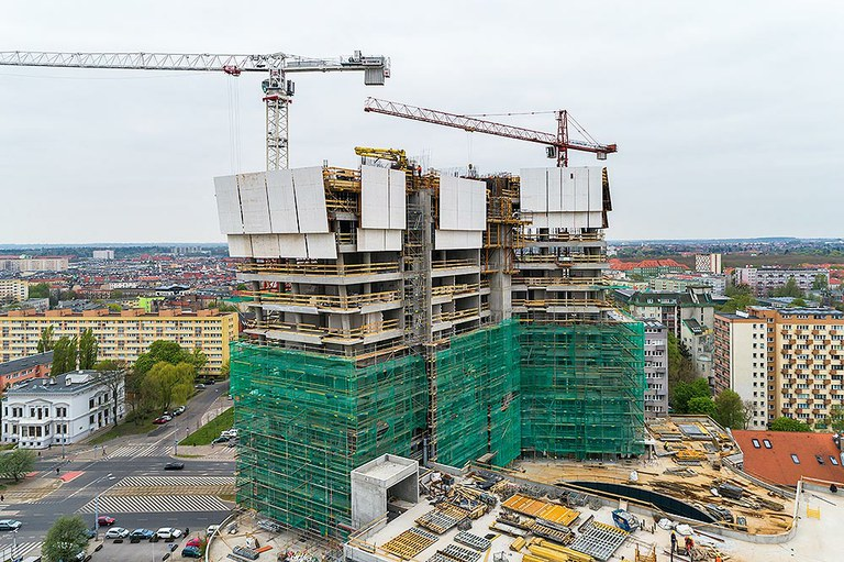 High performance and safety for Hanza Tower, Poland
