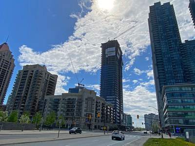 High performance and safety at the Wesley Tower, Mississauga, Canada