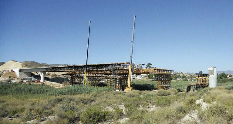HSRL Alicante - Murcia, Vinalopó Viaduct