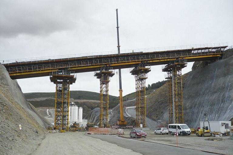 HSRL Zamora - Orense, Campo Becerros Overpass