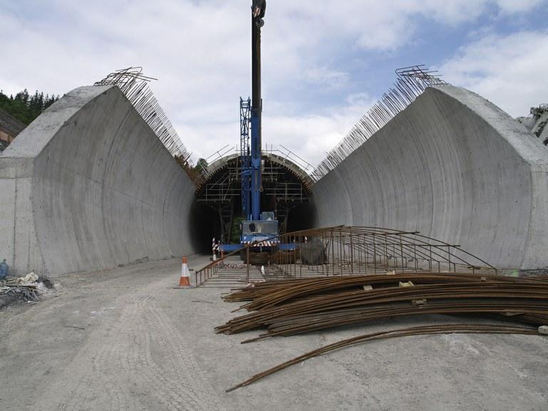 """Basque """"Y"""", Tolosa Tunnel"""