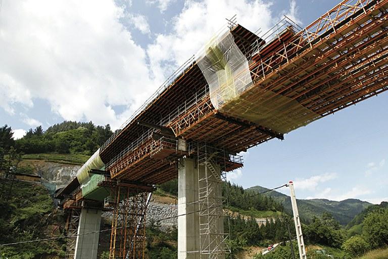 """Basque """"Y"""", Tolosa Viaduct"""