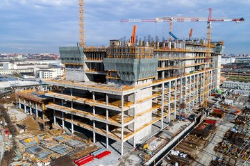 Innovative ULMA solutions in the construction of the Galeazzi Hospital, Italy