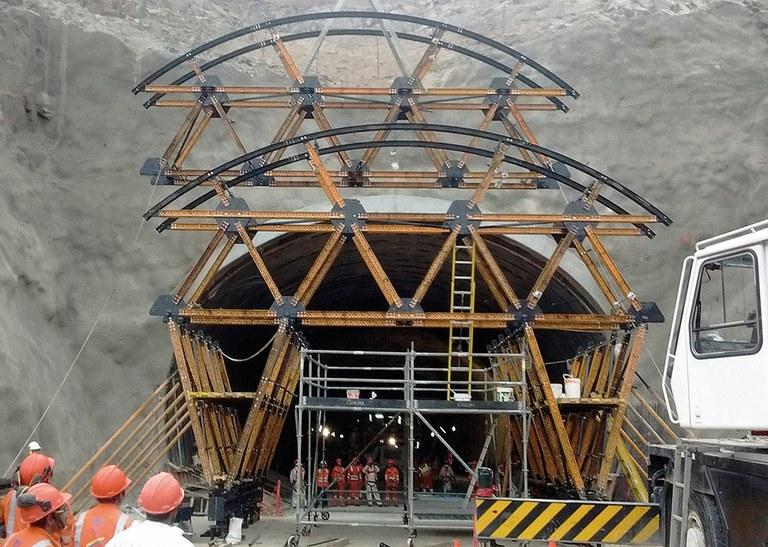 Santa Rosa Tunnel, Lima, Peru